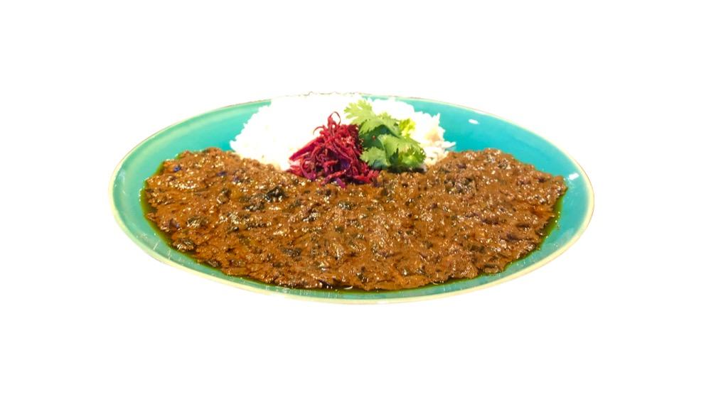 60. 風乗りメリー<br>仔羊挽肉と発酵食品カレー