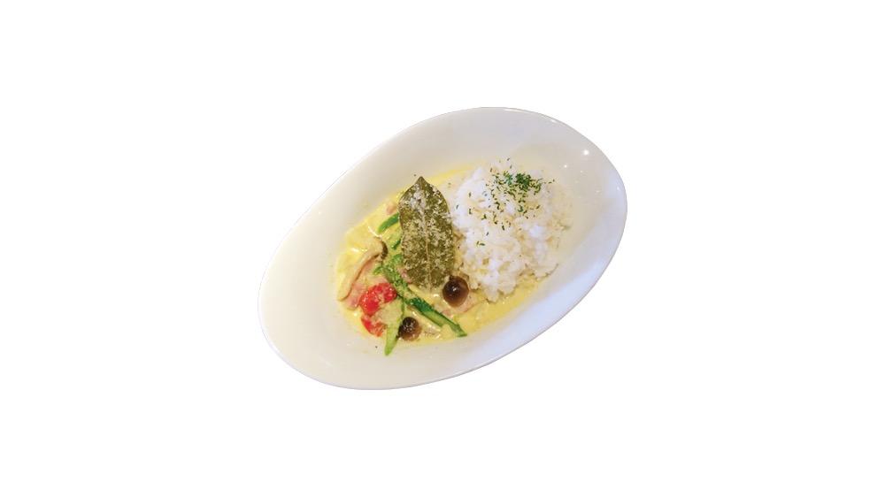 75. restaurant&bar -es- 下北沢店<br>グリーンカレーライス